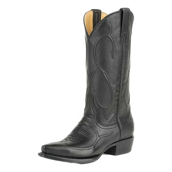Stetson Western Boots Womens Corded Carly Black