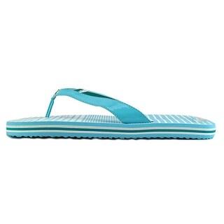 Nautica Eva Sandal Women Open Toe Synthetic Black Flip Flop Sandal