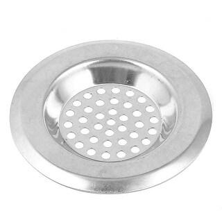 "Bathroom Kitchen Stainless Steel Sink Strainer Floor Drain Stopper 2.6"" Top Dia"