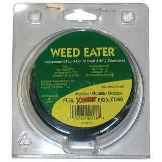 "Weed Eater 952711621 Replacement Trimmer Head. 0.3125"" Dia"