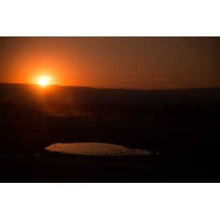 Sunset And Landscape Photograph Wall Art Canvas