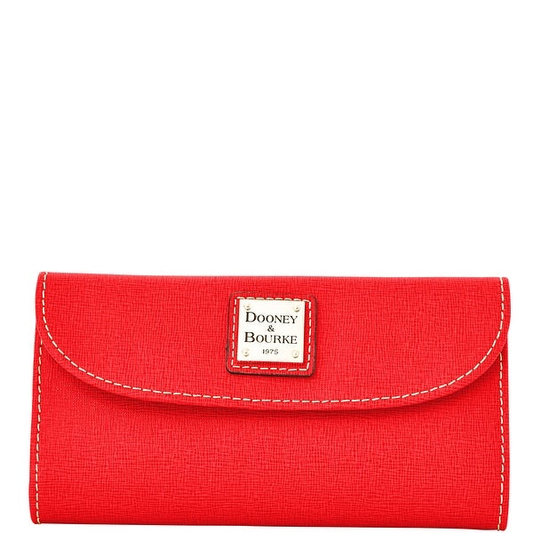 Dooney & Bourke Saffiano Continental Clutch Wallet (Introduced by Dooney & Bourke at $128 in Jan 2015)