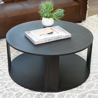 Link to Abbyson Kallan Round Coffee Table Similar Items in Living Room Furniture