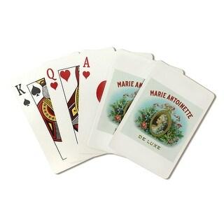Marie Antoinette De Luxe Cigar Box - Vintage Label (Poker Playing Cards Deck)