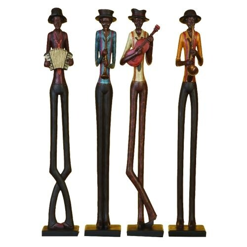 """Aspire Home Accents 44627 African Band Statues 24"""""""