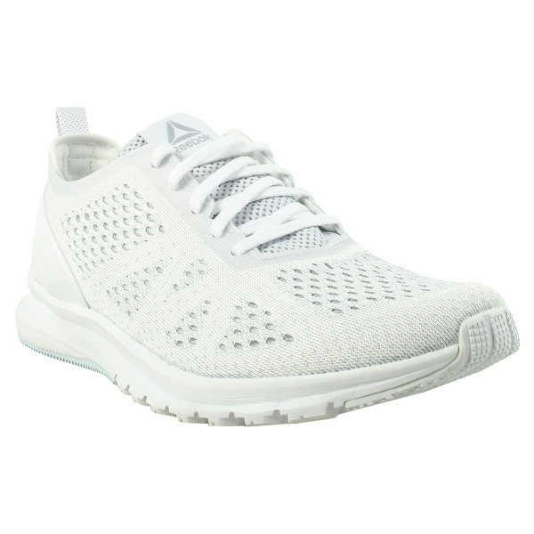 7f6d6ceda9be5b Shop Reebok Womens Smooth Clip Ultraknit White Running Shoes Size 8 ...