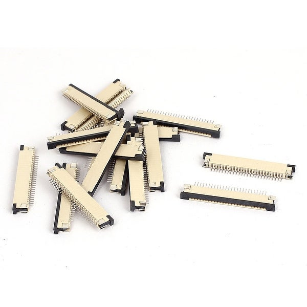 Unique Bargains 26 Pin 1mm Pitch Spacing FFC FPC Flexible Flat Cable Lead Connector Socket 17pcs