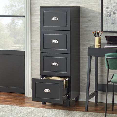 Simple Living Bradley 4-drawer Filing Cabinet