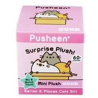 """Pusheen Surprise 3"""" Plush Series #3: Places Cats Sit - multi"""