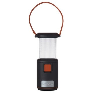 Energizer LED Light Fusion Pop Up Lantern, Grey-Orange, 6.5x3 Inches