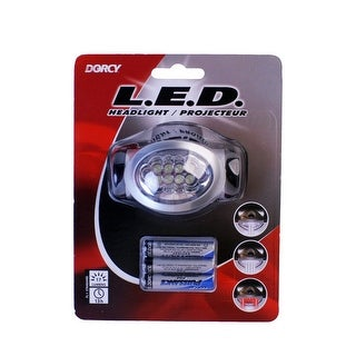 Dorcy 41-2095 LED Headlight With Batteries, Adjustable, 17 Lumens