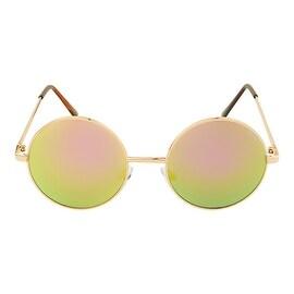Brooke Round Mirror Sunglasses