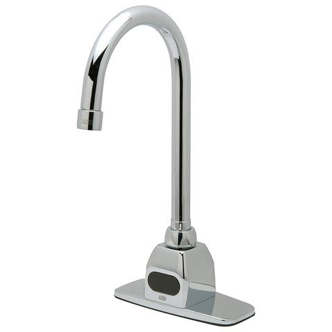 """Zurn Z6920-XL-CP4 AquaSense 1.5 GPM Single Hole Electronic Bathroom Faucet with Cover Plate with 4"""" Centers -"""