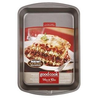 Good Cook Premium Nonstick Lasagna Pan, 14x10 Inches - 11x14 Inches