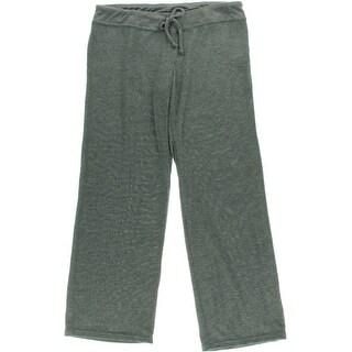 Make + Model Womens Solid Flat Front Lounge Pants - XS