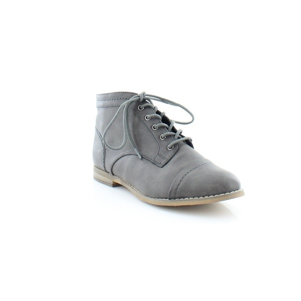 Pink & Pepper Harts Women's Boots Dark Gray