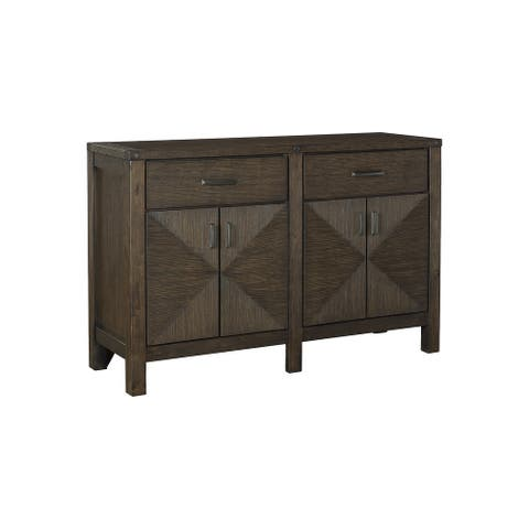 Dellbeck Casual Dining Room Server, Brown - Large