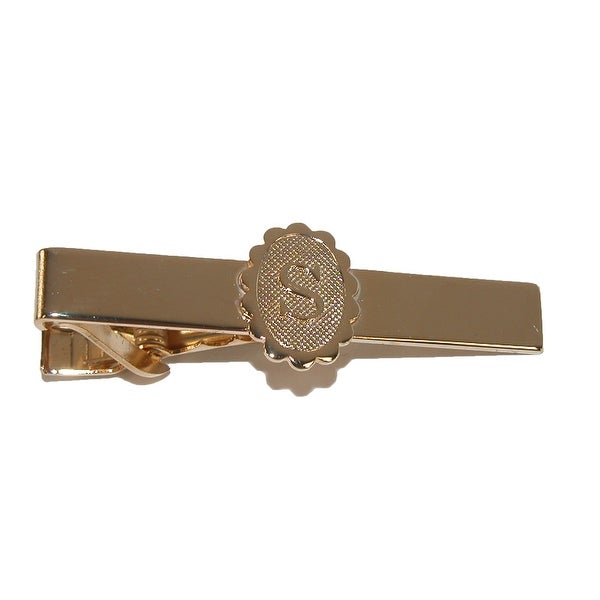 Jaymar Men's Initial Tie Bar Clip