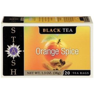 STASH Orange Spice 20 Ct Tea Bags 1.3 OZ   (Pack of 6)