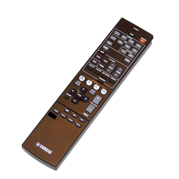 OEM Yamaha Remote Control Originally Shipped With: RXV373BL, RX-V373BL, RXV375, RX-V375, RXV375BL, RX-V375BL