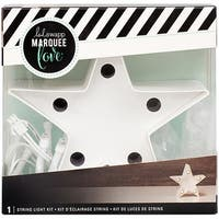 """Heidi Swapp Marquee Love Letters, Symbols & Shapes 4""""-Star"""