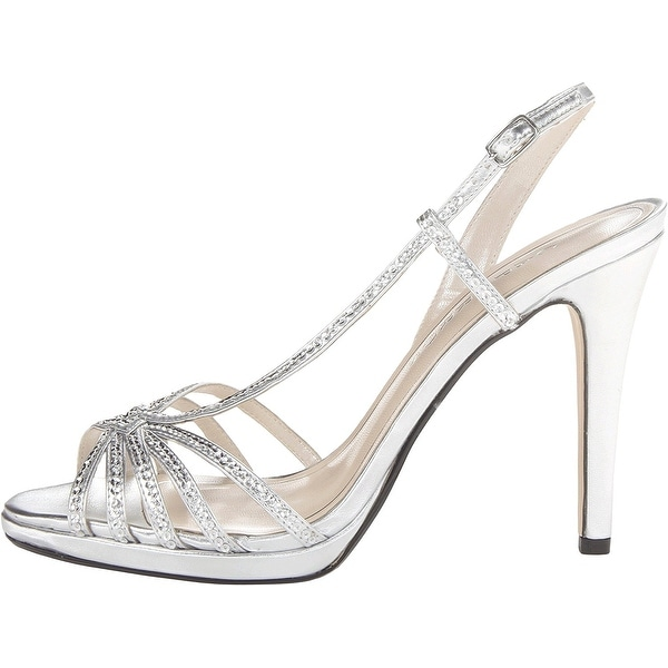 Caparros Womens Kathleen Open Toe Bridal Strappy Sandals - 9.5