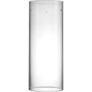 """Volume Lighting GS-307 8"""" Height Clear Glass Cylindrical Shade"""