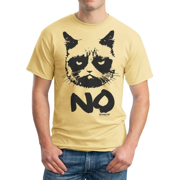 644978757 Shop Grumpy Cat Grumpy No Men's Vegas Gold Funny T-shirt - Free Shipping On  Orders Over $45 - Overstock - 17381426