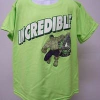 Incredible Hulk Youth Size Xl Xlarge Shirt Marvel 69Pp
