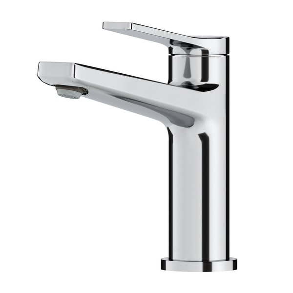 KRAUS Indy Single Handle 1-Hole Bathroom Faucet. Opens flyout.