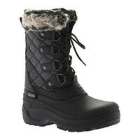 Tundra Women's Augusta Winter Boot Black/Charcoal