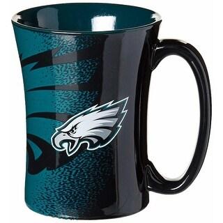 Philadelphia Eagles Mocha Mug - Black
