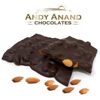 Andy Anand Sugar Free Almond Bark in Dark Belgian Chocolate
