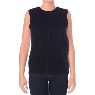 Lauren Ralph Lauren Womens Wool Sleeveless Sweater Vest