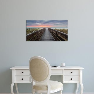 Easy Art Prints Andrew Vernon's 'At Day's End' Premium Canvas Art
