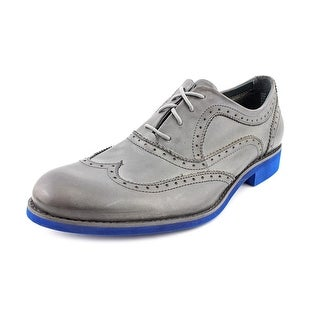 Wolverine Horace Men Wingtip Toe Leather Gray Oxford