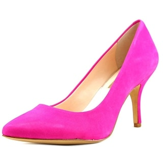 INC International Concepts Zitah Women W Pointed Toe Leather Pink Heels