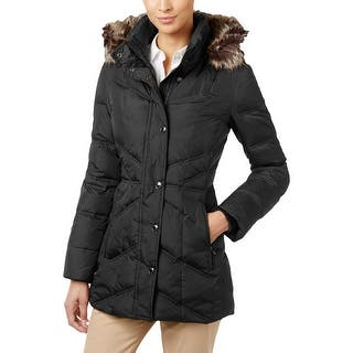 London Fog Womens Petites Puffer Coat Faux Fur Trim Removable Hood - pxs|https://ak1.ostkcdn.com/images/products/is/images/direct/9e28daece1b31eada361a3382bccc66797d541b0/London-Fog-Womens-Petites-Puffer-Coat-Faux-Fur-Trim-Removable-Hood.jpg?impolicy=medium
