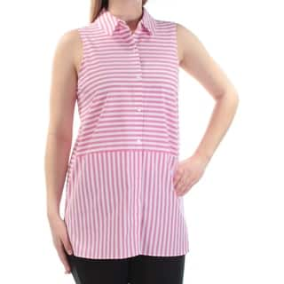 325bb29866ecf9 Buy Collar Vince Camuto Sleeveless Shirts Online at Overstock.com ...