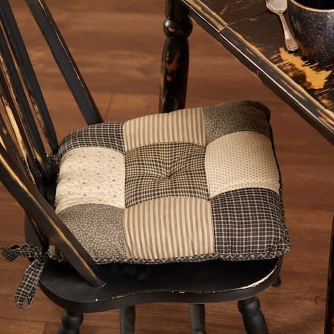 Kettle Grove Chair Pad Patchwork