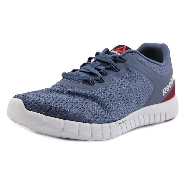 470fe7b9039 Shop Reebok ZStrike Elite Women Round Toe Synthetic Blue Running ...