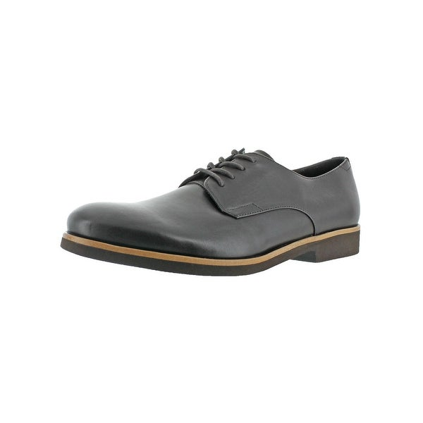 Calvin Klein Mens Faustino Oxfords Solid Dress Calf