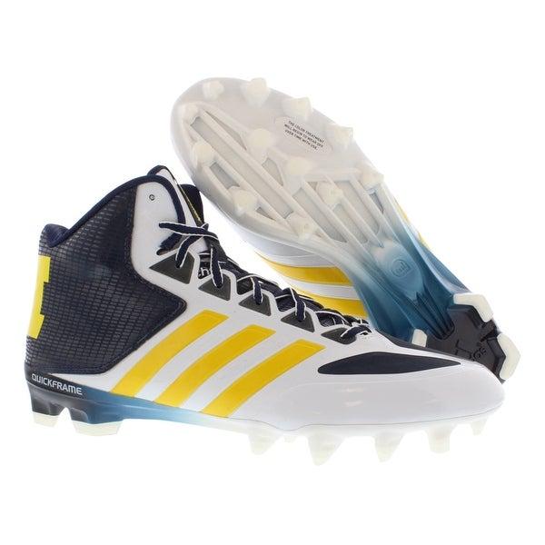 Adidas As Smu Crazyquick Mid Ncaa Football Men's Shoes Size