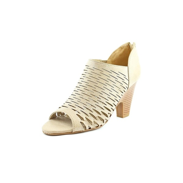 Famous Name Brand Meeka Open Toe Synthetic Sandals