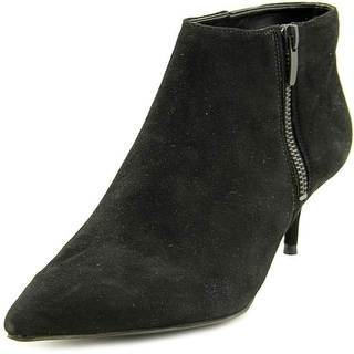 Enzo Angiolini Gibor Pointed Toe Suede Bootie