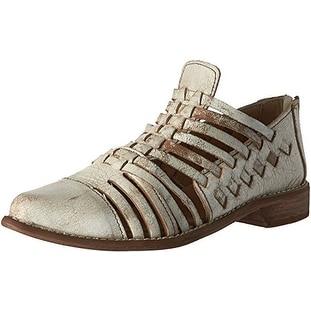 BedStu Women's Las Cruces Gladiator Sandal, Nectar Lux, 8 M US