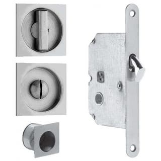 """Omnia 3911 Mortise Lock for 1-3/4"""" Wooden Pocket Doors