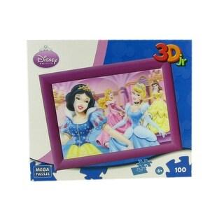 Mega Puzzles Disney Princesses 100 Piece 3D Jr Puzzle
