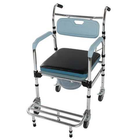 Aluminum Elder People Disabled People Pregnant Women Commode Chair