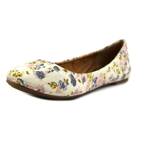 Lucky Brand Emmie Women W Round Toe Canvas Multi Color Flats